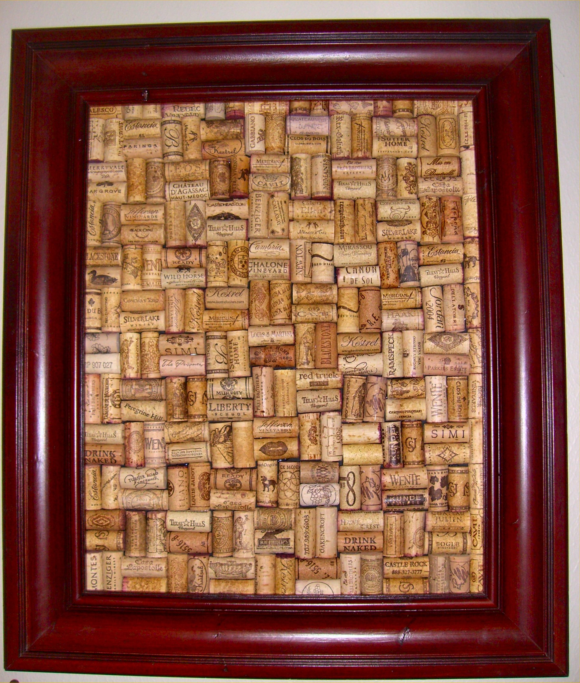 corkboard inside nanabreads head