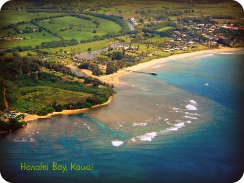 Hanalei Pier & River - Inside NanaBread's Head
