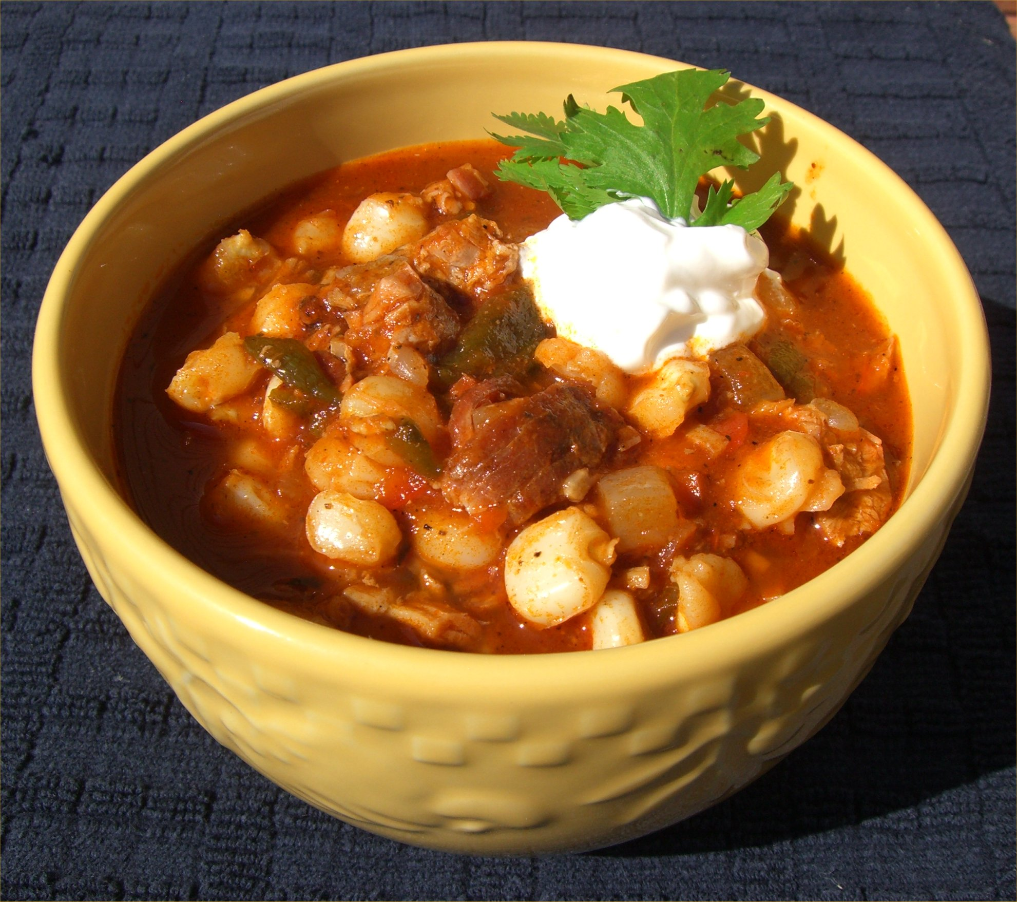Posole – It's a Mexican-Style Stew | Inside NanaBread's Head