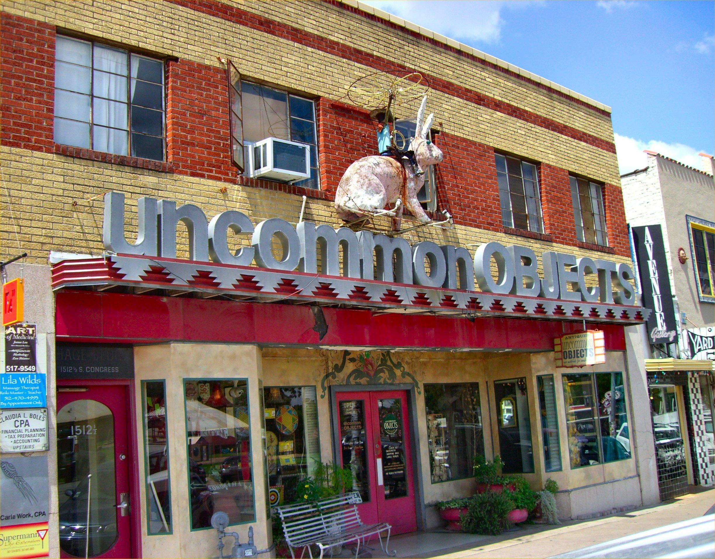 Uncommon objects austin texas