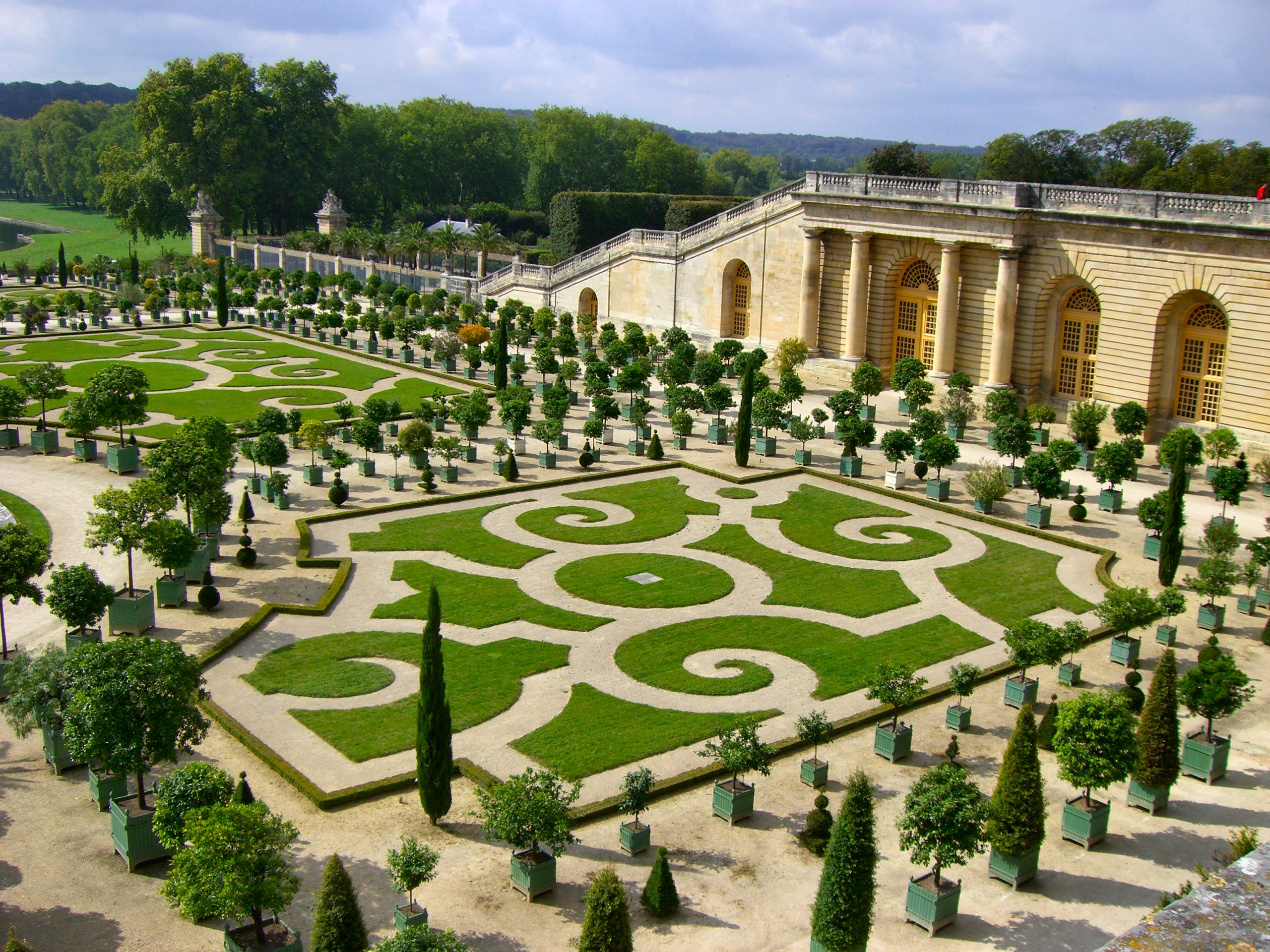 Botanical gardens inside nanabread 39 s head for Garden design versailles