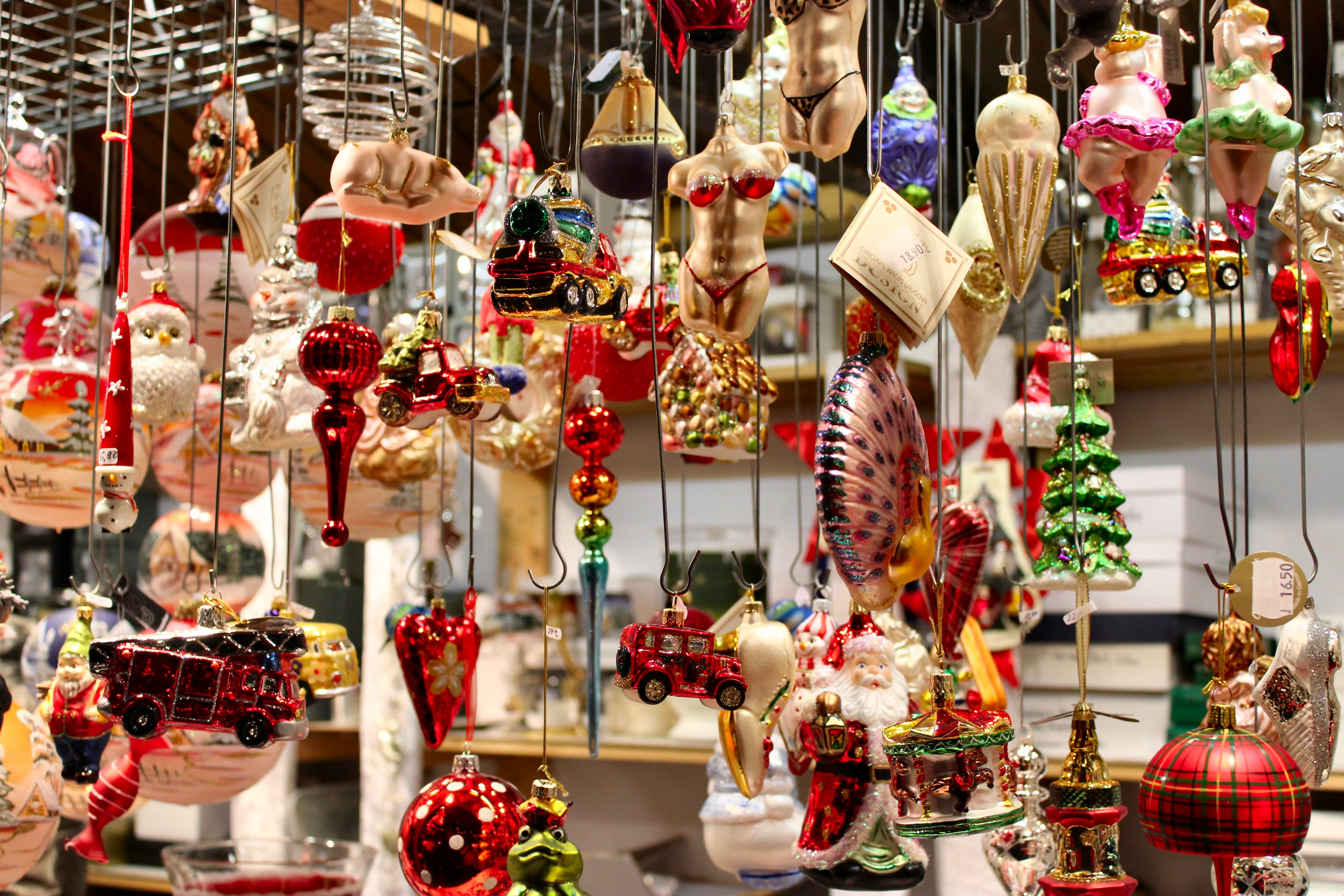 Traditional german christmas decorations - Ornaments