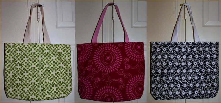 How To Make A Tote Bag Out Of Upholstery Fabric Samples Inside
