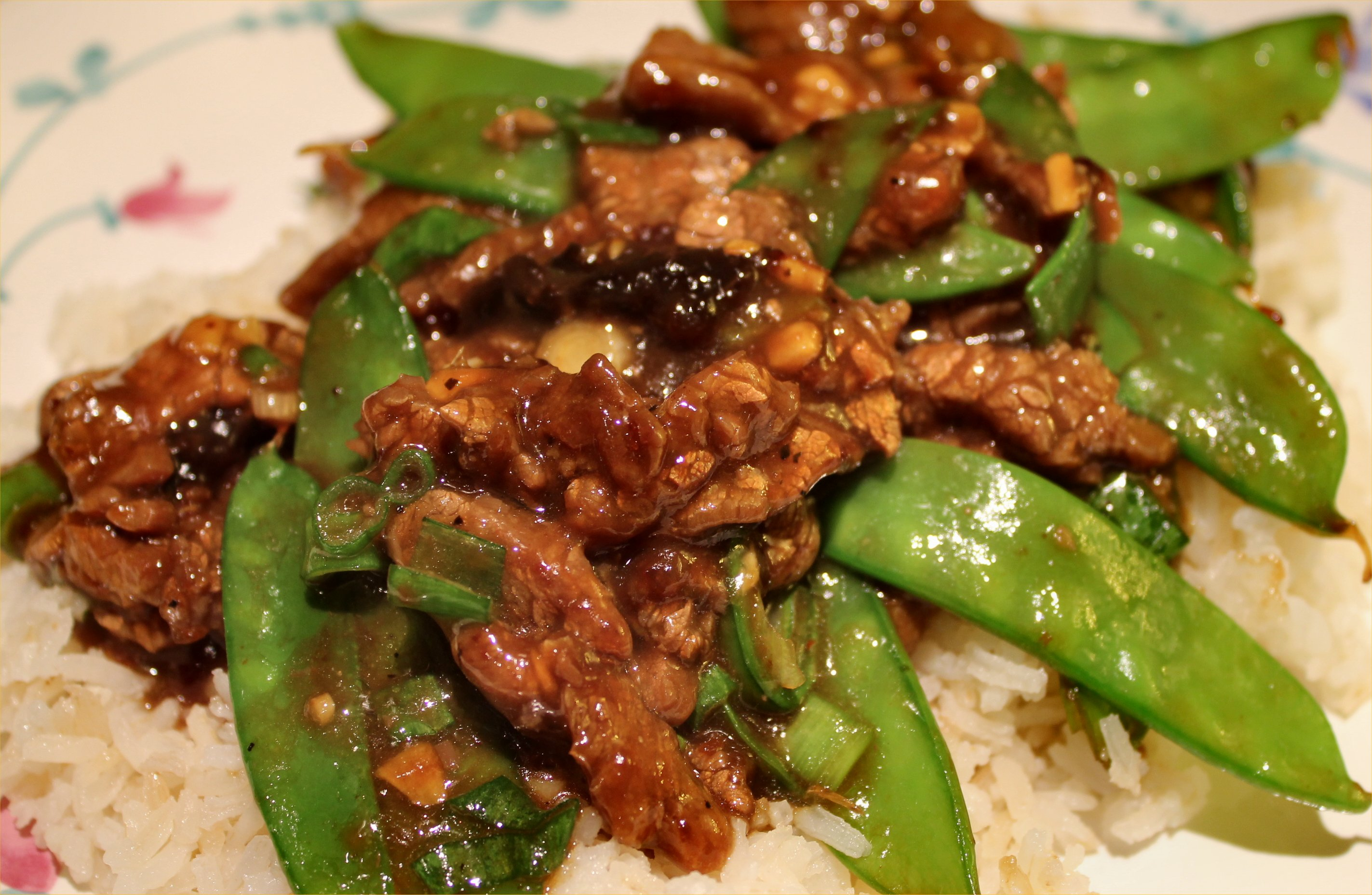 ... : The Pioneer Woman's Beef with Snow Peas | Inside NanaBread's Head