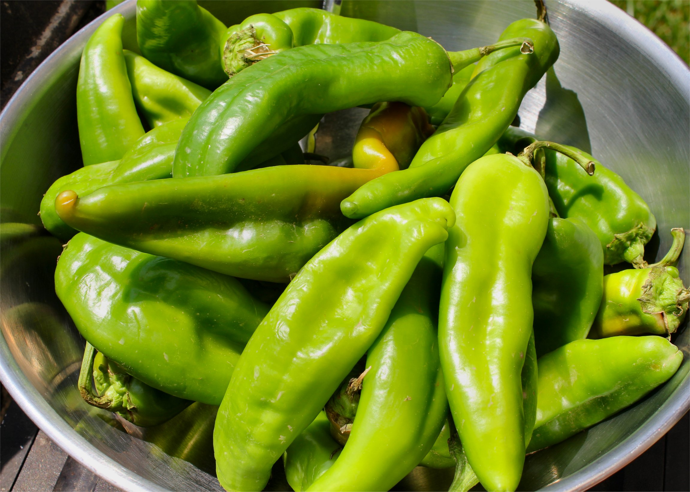 Hatch Green Chilies? Yes, Please! | Inside NanaBread's Head