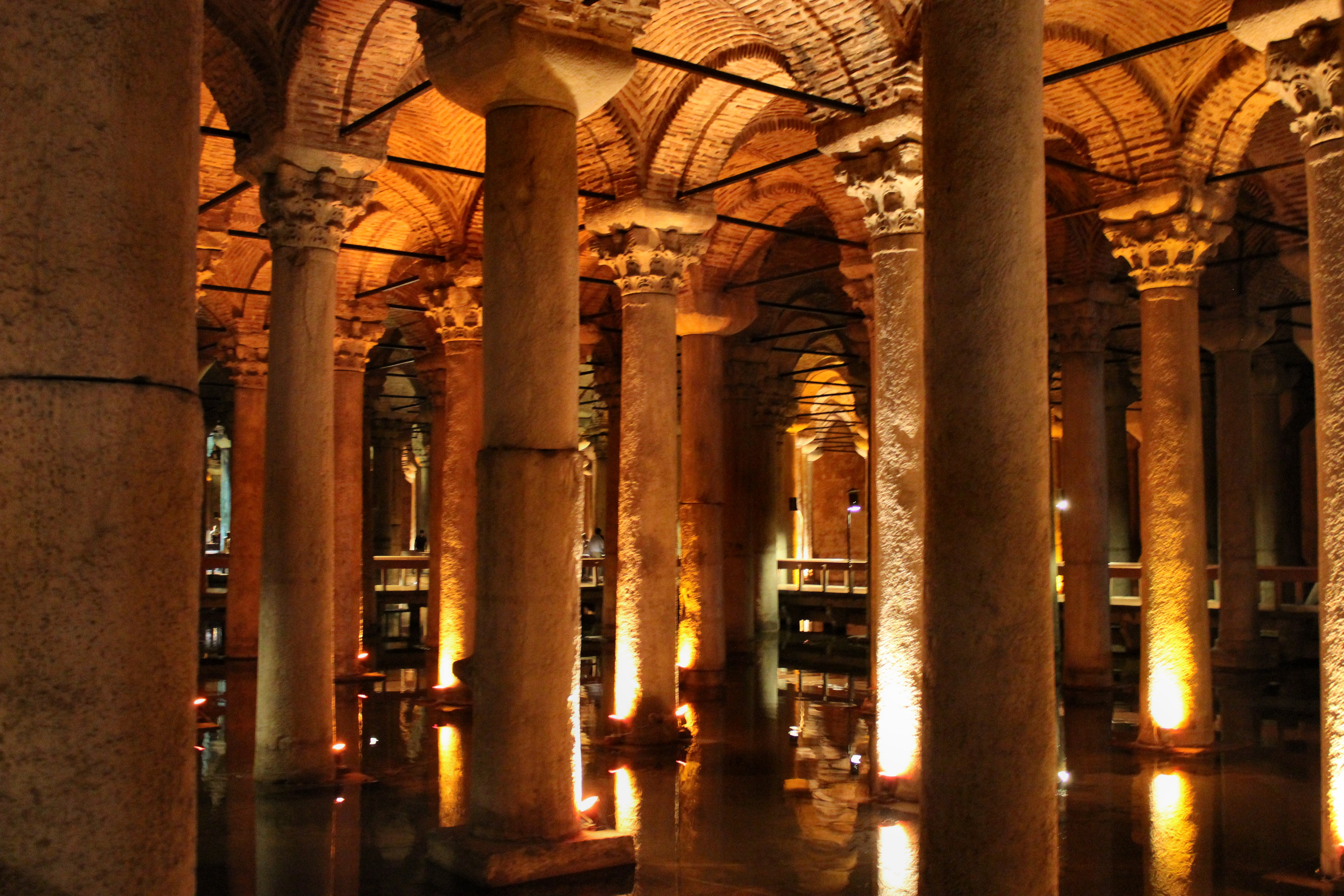 The Basilica Cistern | Inside NanaBread's Head