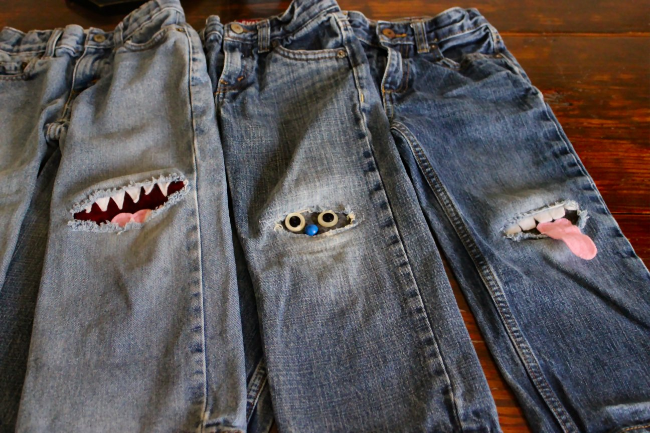 Iron on patches for holes in clothes