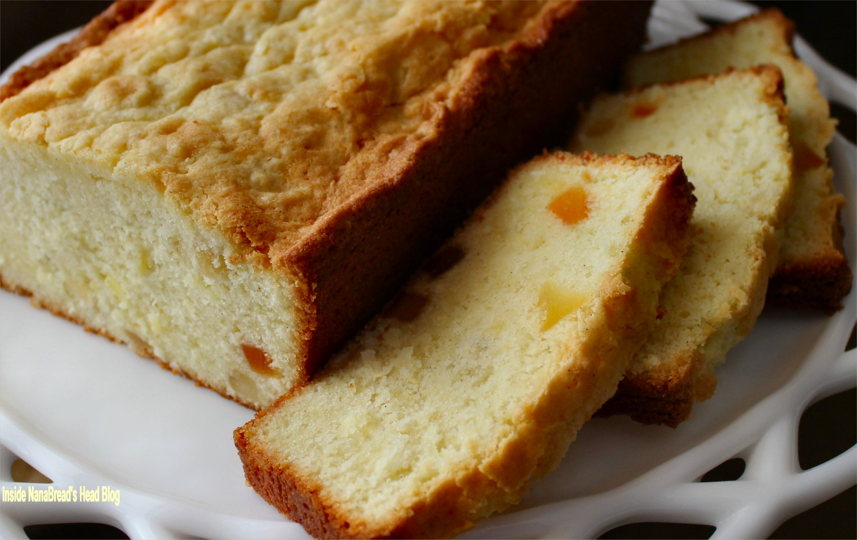 Upside Down Up Pound Cake