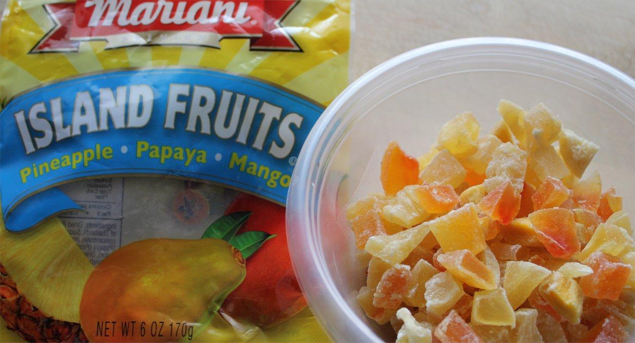 dried fruits hawaiian fruit