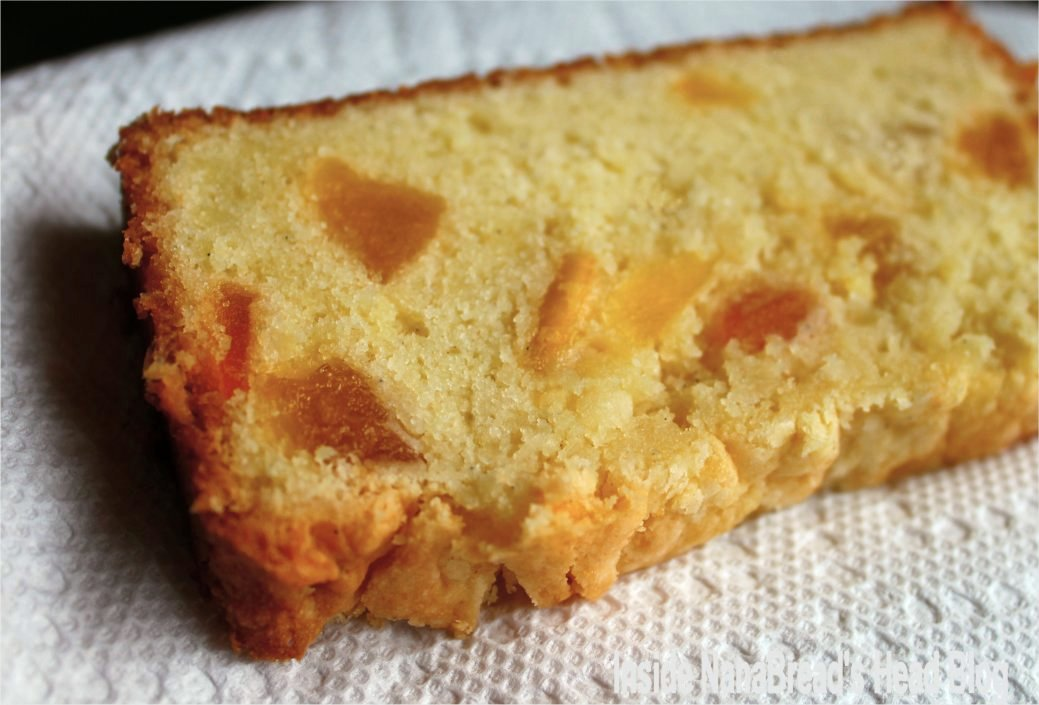 Tropical Cream Cheese Pound Cake