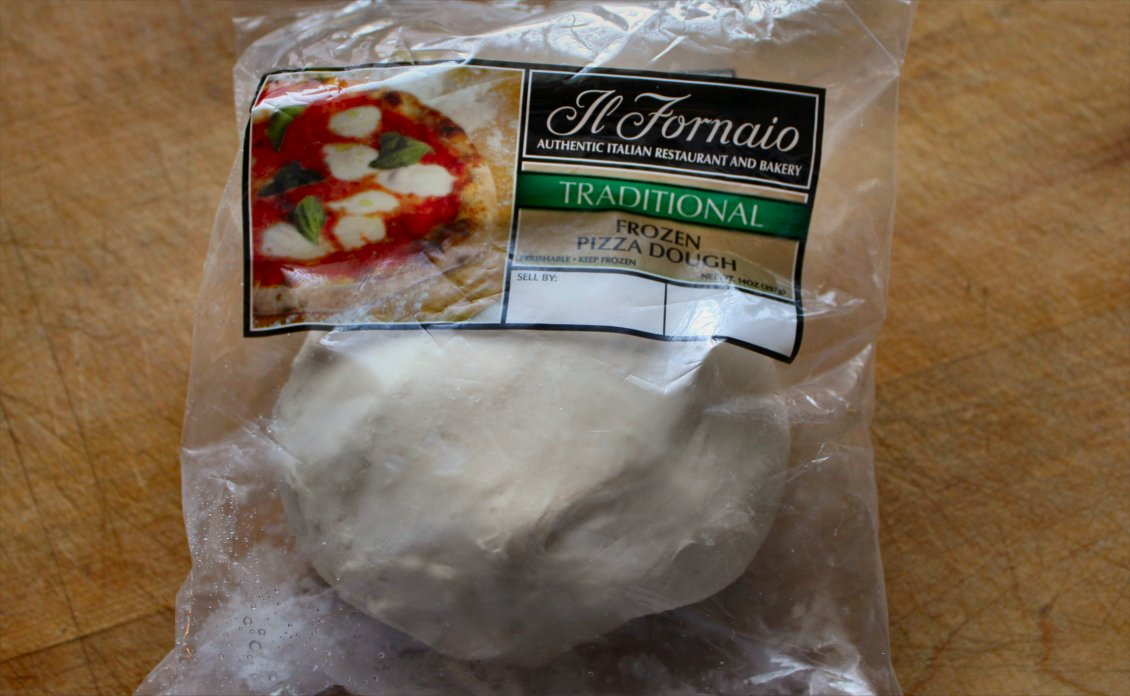 how to cook frozen pizza dough