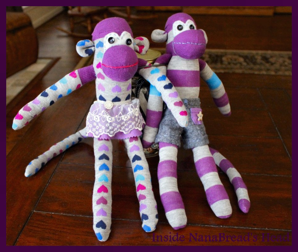 Friday Fun: The Sock Monkey Project | Inside NanaBread's Head