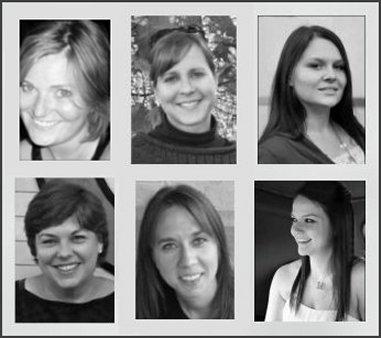 The OKMH Gang (clockwise from top left) - Mads, Kirsten, Megan, Kat, Allison & me