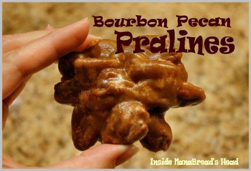 Bourbon Pecan Pralines - One