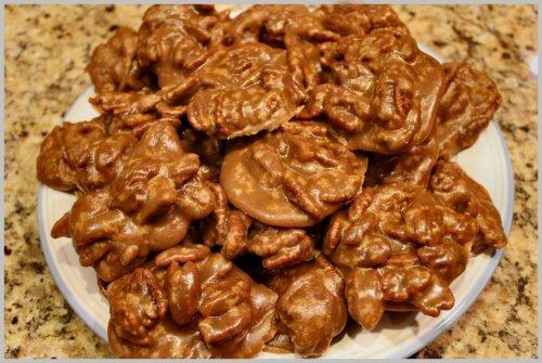 Bourbon Pecan Pralines