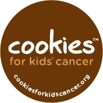 Cookies for Kids Cancer Button