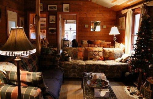 LeakeyTX - Cabin View from Front Door