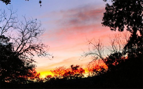 LeakeyTX - Sunset at St Clares Cabin