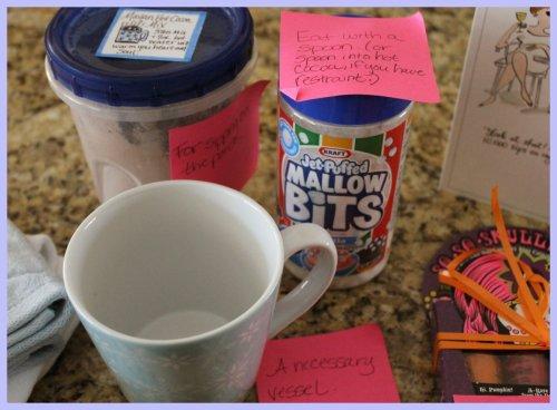 OKMH Dec - Cocoa Marshmallow & A Cup