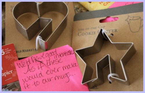 OKMH Dec - Cup Cookie Cutters