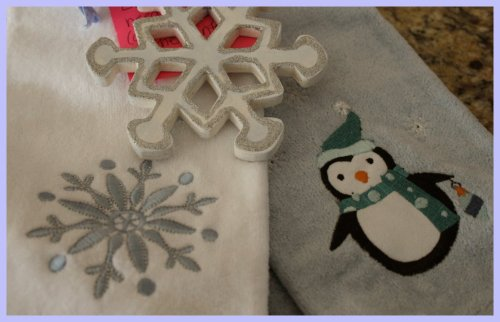 OKMH Dec - Cute Ornament & Towels