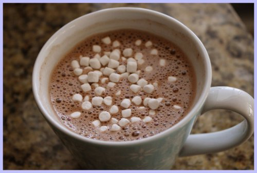 OKMH Dec - First Cup of Cocoa