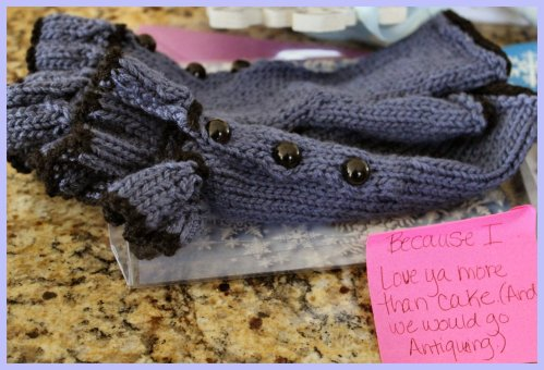 OKMH Dec - Hand-Knitted Gloves
