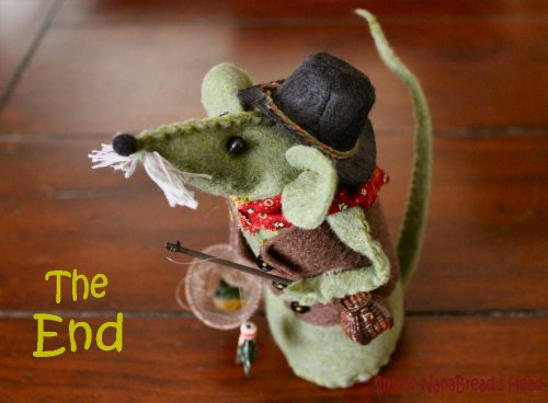 Felt Mouse Tutorial - Grandpa FisherMouse