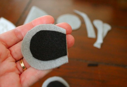 Felt Mouse Tutorial - Matching Ear Pieces