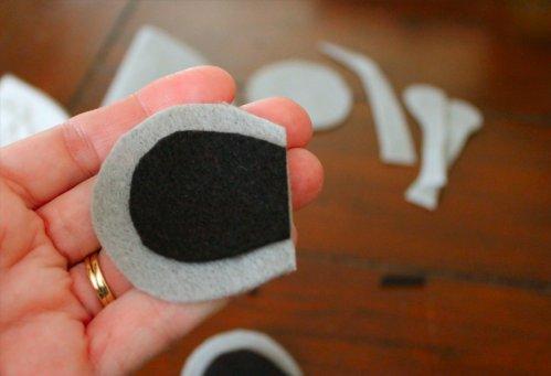 Felt Mouse Tutorial - Matching Ear Pieces