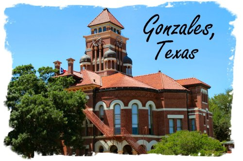 Gonzales - Header with Courthouse
