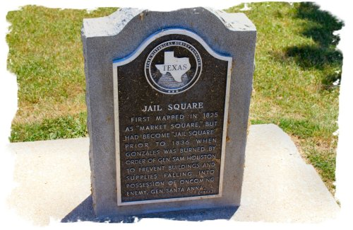 Gonzales - Town Square Marker