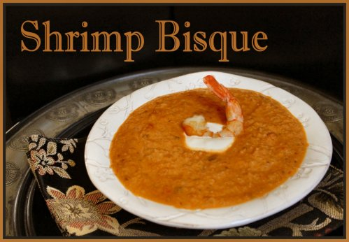 Shrimp Bisque - Title Photo