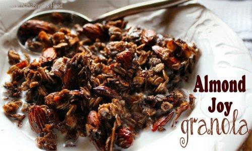 Almond Joy Granola - Title Shot - Inside NanaBread's Head