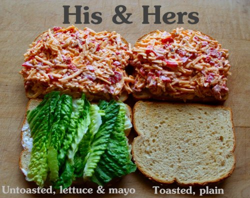 Pimento Cheese - His & Hers - Inside NanaBread's Head