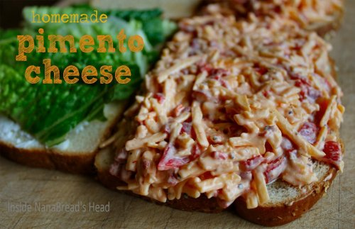 Pimento Cheese Sandwich - Inside NanaBread's Head