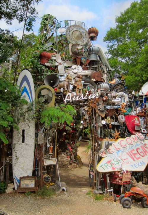Cathedral of Junk - A Peek Inside