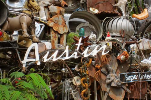Cathedral of Junk - Austin Mirror