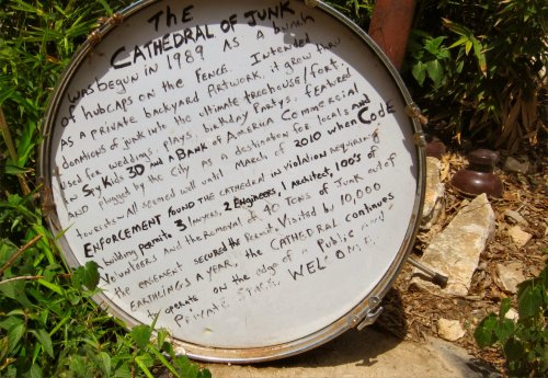 Cathedral of Junk - Story on Drum