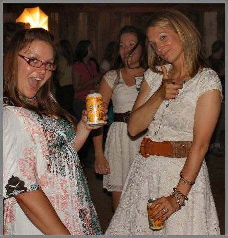 Megan (Country Cleaver), Katie (Hill Country Cook) & Lauren (Grier Mountain) at the closing party