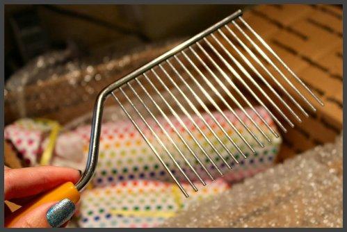 OKMH June 2013 - Antique Cake Comb
