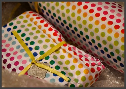 OKMH June 2013 - Polka Dot Packaging
