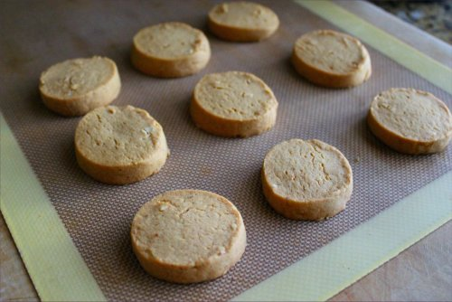 Heat Is On PB Shortbreads - Slice & Bake style