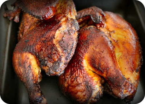 A Smoked Chicken