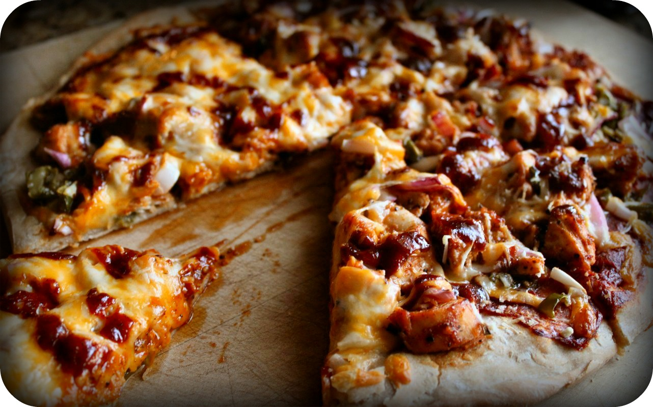 BBQ chicken pizza | Inside NanaBread's Head
