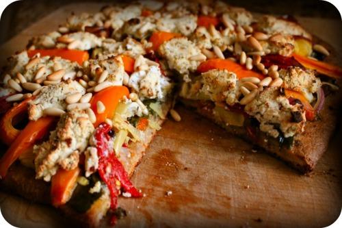 DeLallo Veggie Pizza