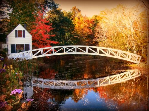 Maine - Somesville Bridge