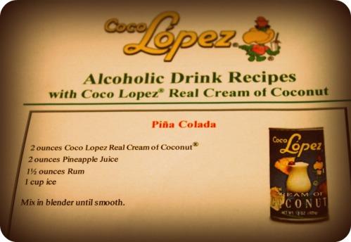 Pineapple Harvest 2013  - Pina Colada Recipe