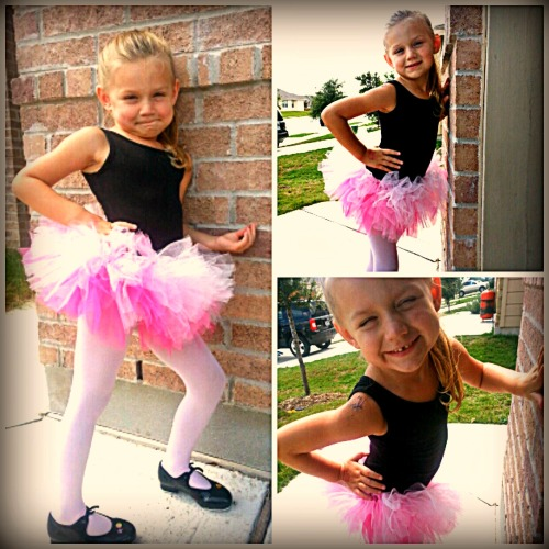 Lilly's Tutu Collage