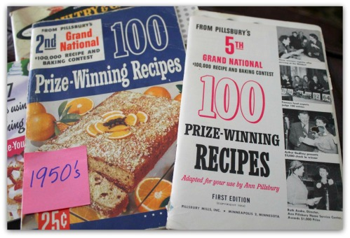 OKMH - October 2013 - Vintage 50's Baking Books